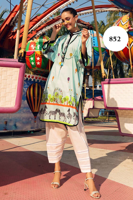 Gul Ahmed Yolo 2021 Collection SL # 852