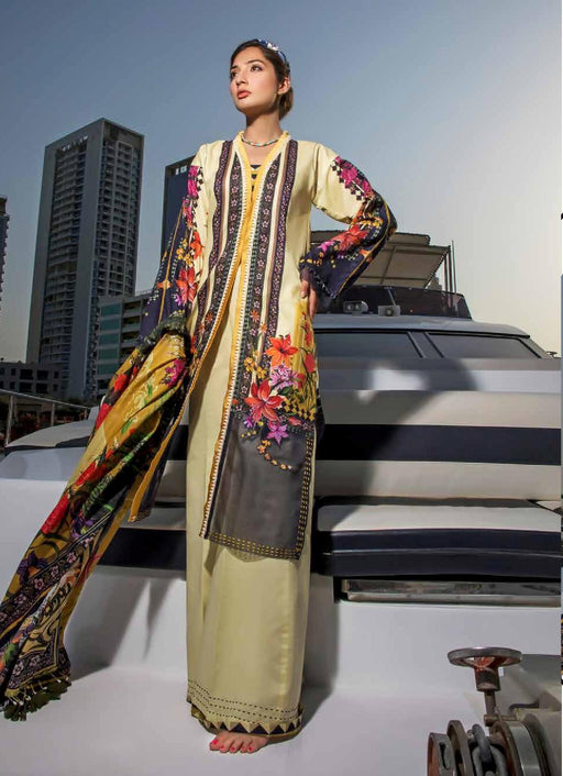 wishcart-Pakistanisuits-Firdous Urbane Digital Lawn Prints Vol 2 19149 B
