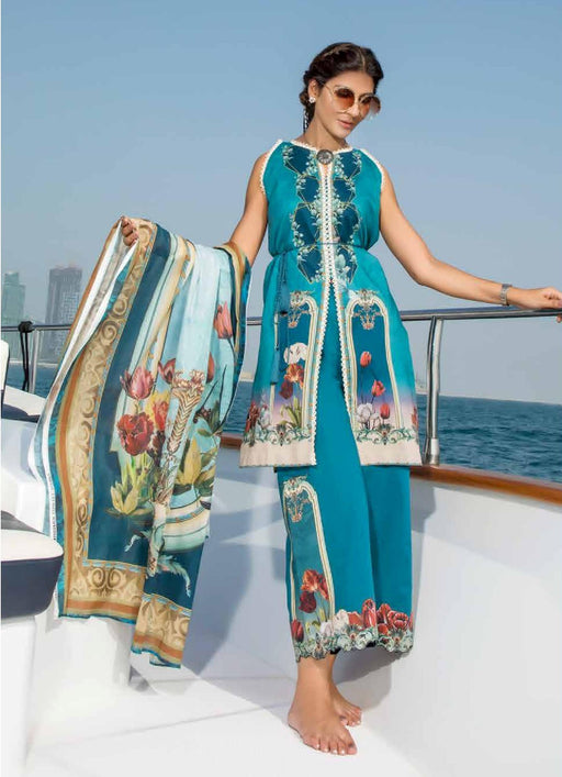wishcart-Pakistanisuits-Firdous Urbane Digital Lawn Prints Vol 2 19153 A