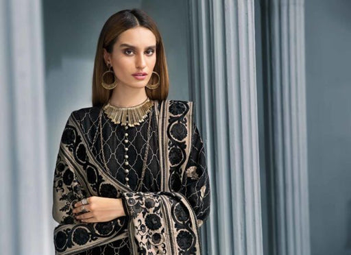 wishcart Pakistanisuits collactions Poshak e Chinar Shawl Dresses 2019 by Gul Ahmed-AYE03