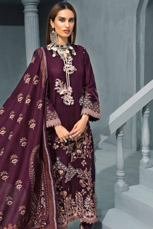 wishcart Pakistanisuits collactions Poshak e Chinar Shawl Dresses 2019 by Gul Ahmed-AY06