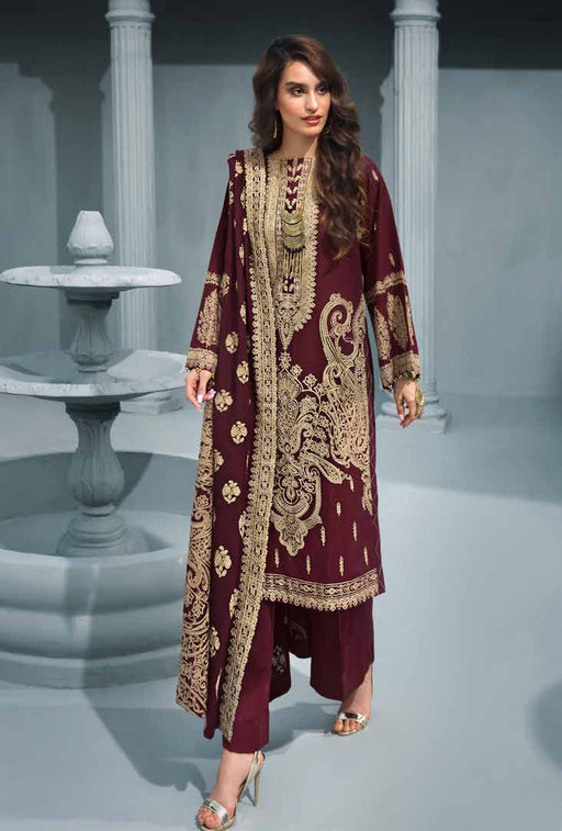 wishcart Pakistanisuits Poshak e Chinar Shawl Dresses 2019 by Gul Ahmed-AYE01