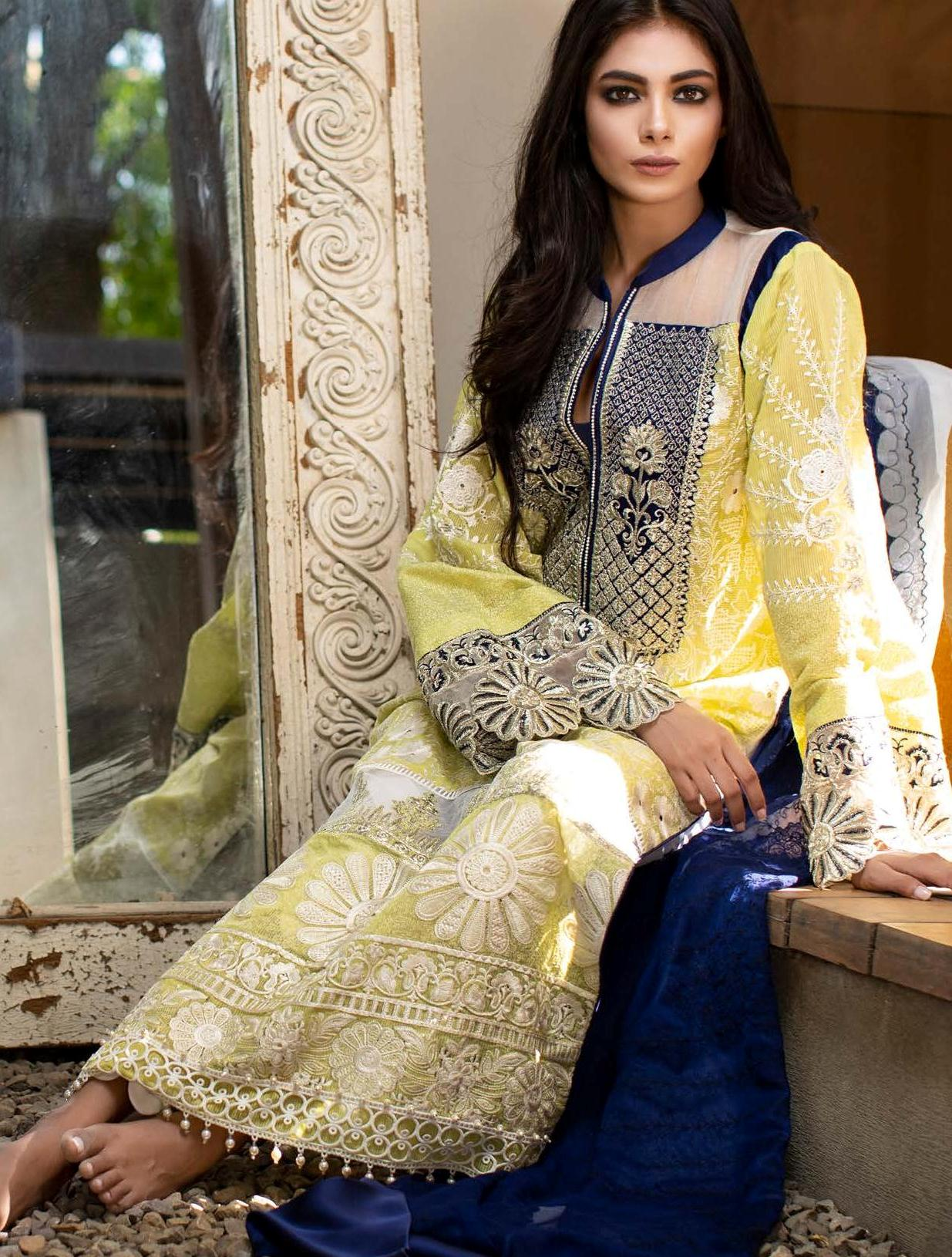 Zunuj Luxury Chikankari Dresses 2019