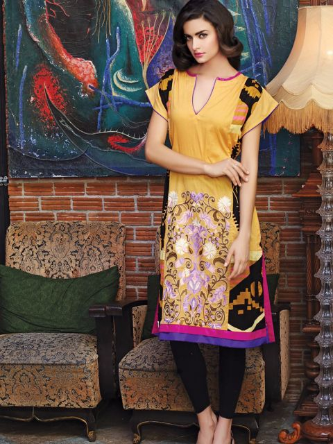 Embroidered kurti for summer@wishcart.in