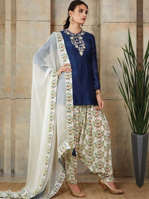 Chanderi suit@wishcart.in