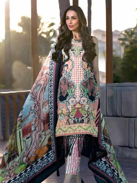 Zoya Didi Embroidered Original Pakistani Dresses & Suits Collection 1 Wishcart.in