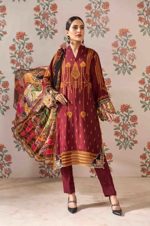 wiscart-Pakistanisuits-Resham Ghar Embroidered Silk Suits 2020-RGW-02