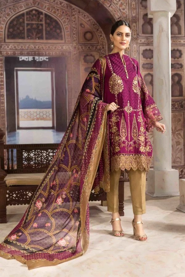 Resham Ghar Embroidered Silk Suits 2020