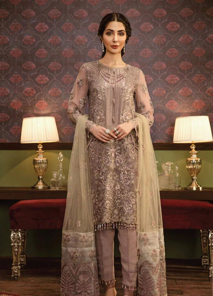 wishcart-Pakistanisuits-Flossie Crafting Luxury Chiffon Vol 5 Collection FC10 Moir