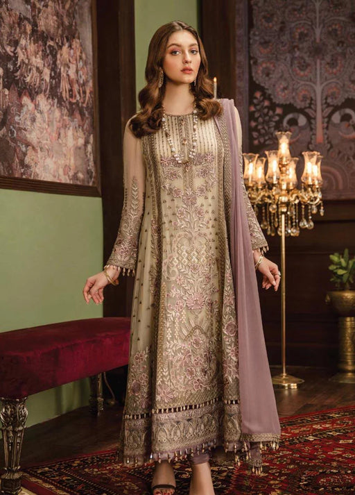 wishcart-Pakistanisuits-Flossie Crafting Luxury Chiffon Vol 5 Collection