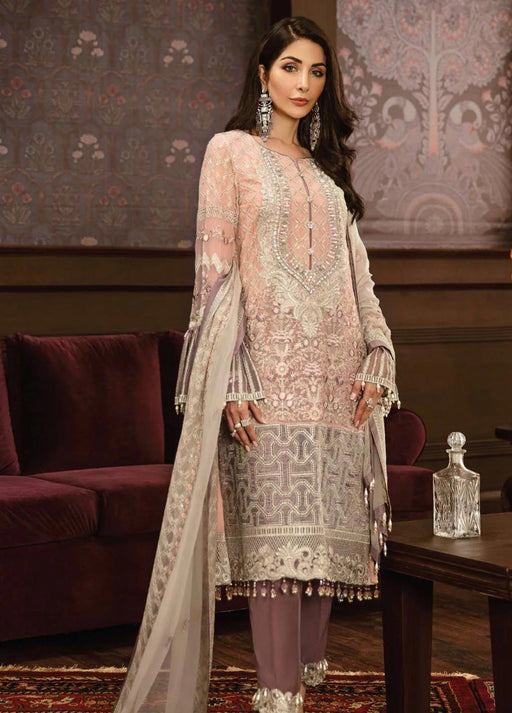 wishcart-Pakistanisuits-Flossie Crafting Luxury Chiffon Vol 5 Collection FC03-Mesmerizing