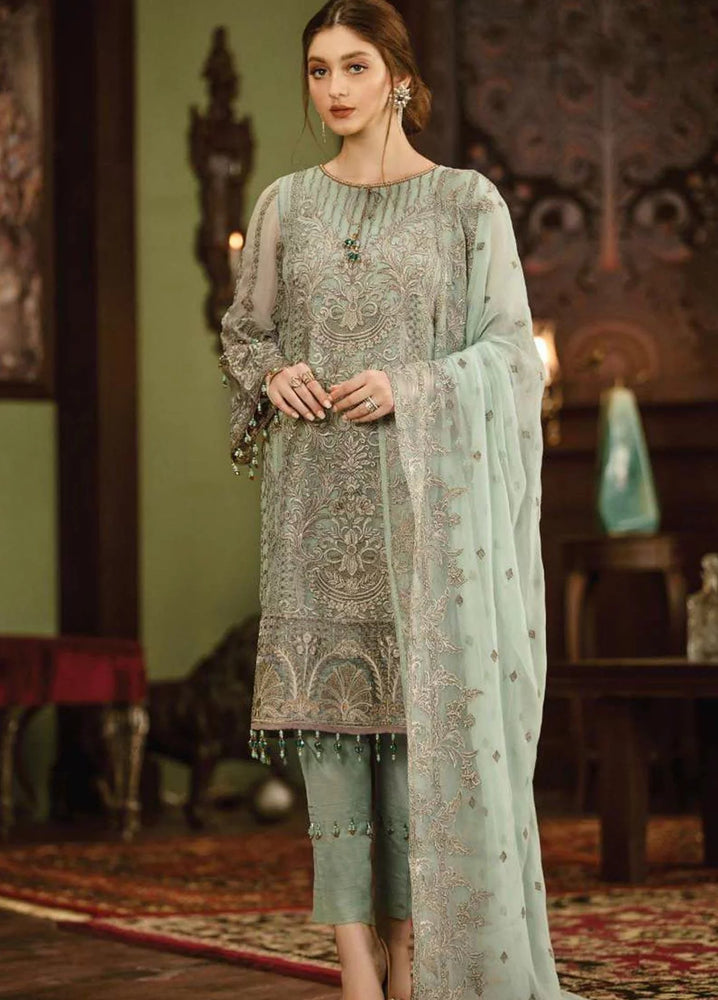 wishcart-Pakistanisuits-Flossie Crafting Luxury Chiffon Vol 5 Collection FC04 Crystallia