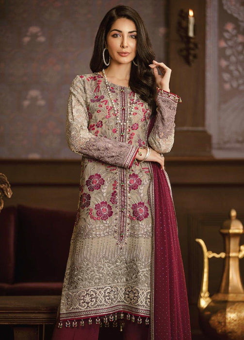 wishcart-Pakistanisuits-Flossie Crafting Luxury Chiffon Vol 5 Collection FC05 Coronation