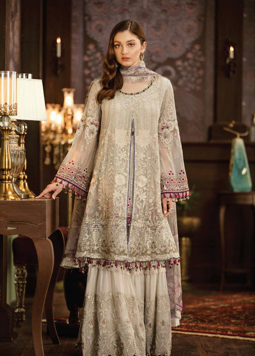 wishcart-Pakistanisuits-Flossie Crafting Luxury Chiffon Vol 5 Collection FC09 Isabela