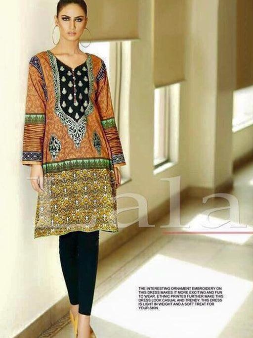 Lala La Femme Unstitched Kurti Collection@wishcart.in