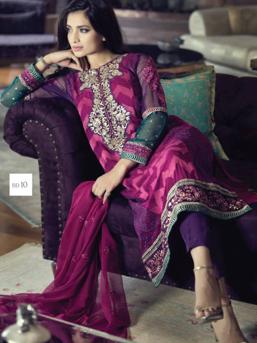 Maria B Embroiderd Eid Unstitched Collection