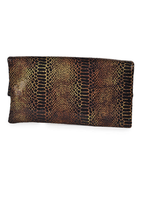 Designer brown clutch@wishcart.in