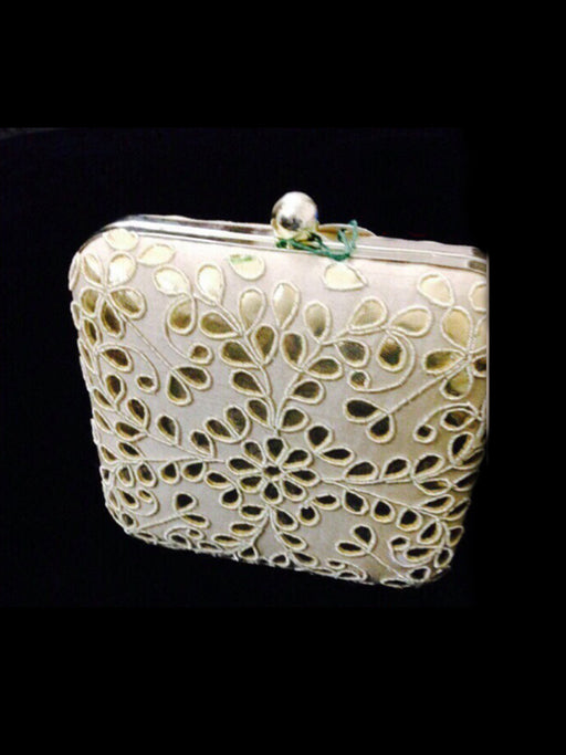 Traditional Embroidered design clutch purse@wishcart.in