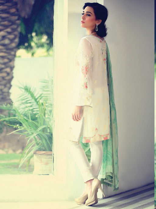 Stylish embroidered suit@wishcart.in