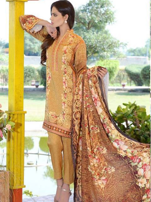 Karandi unstitched suit design@wishcart.in