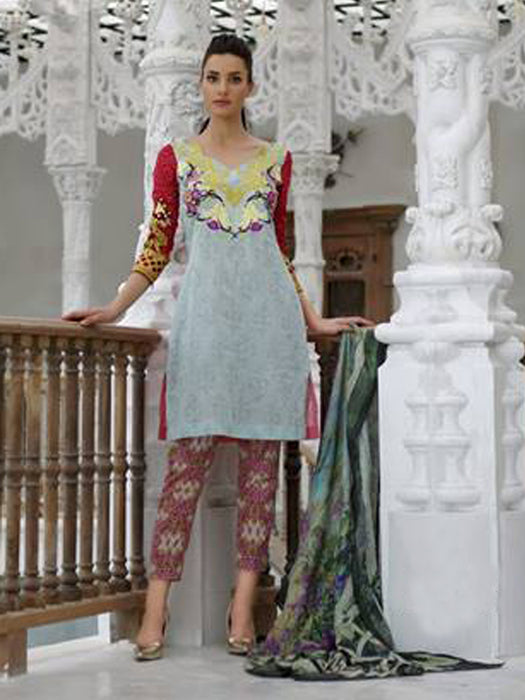 wishcart-store - Tabassum Mughal Luxury Lawn Collection - wishcart.in -