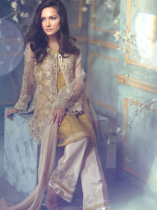 Embroidered suit by Rungrez collection@wishcart.in