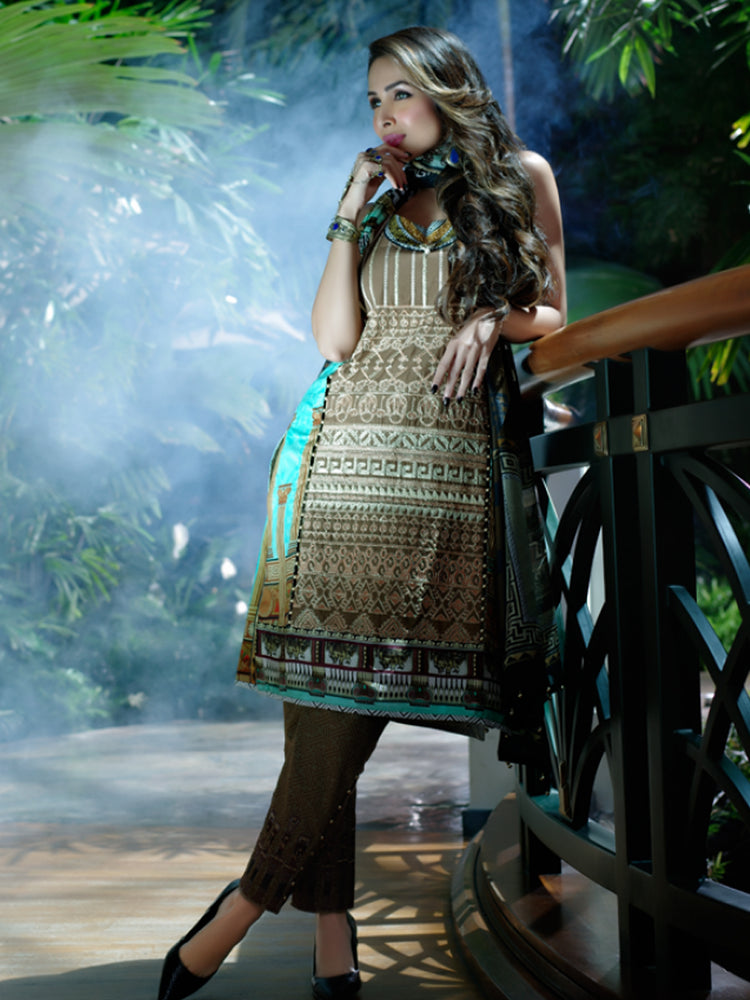 Zoya Didi Embroidered Original Pakistani Dresses & Suits Collection 5 Wishcart.in