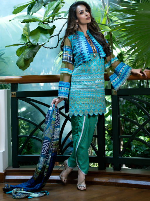 Zoya Didi Embroidered Original Pakistani Dresses & Suits Collection 152 Wishcart.in
