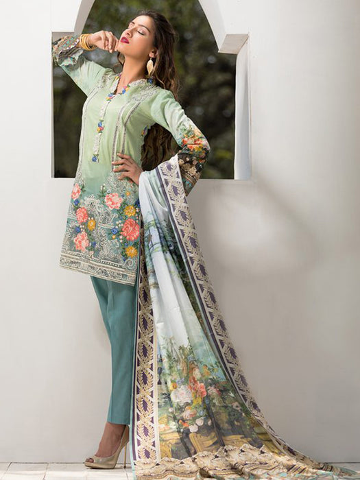 wishcart-store - Firdous Exclusive Eid Collection- Tropical Tranguility - wishcart-store -