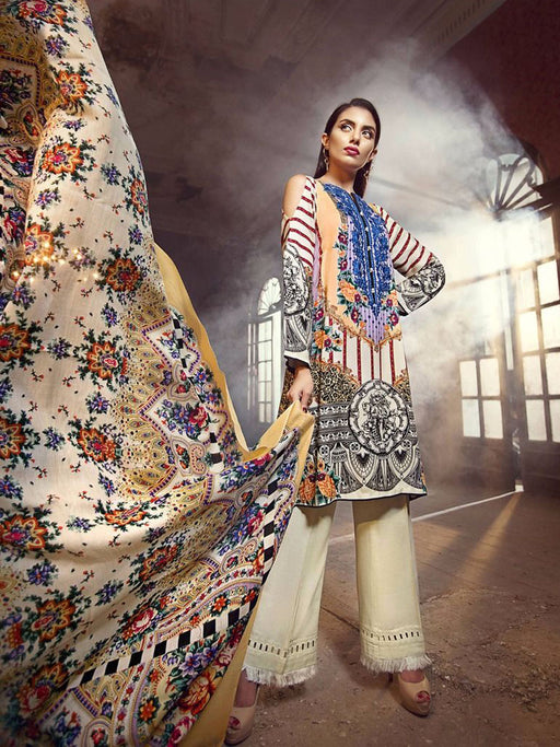 Gul Ahmed Winter Original Pakistani Dresses & Suits Collection 17 07 - wishcart.in