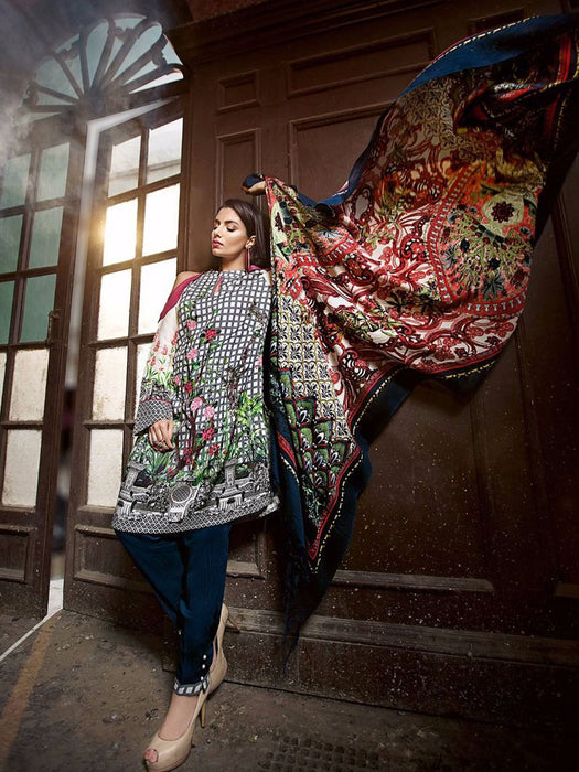 Gul Ahmed Winter Original Pakistani Dresses & Suits Collection 17 - 14 wishcart.in