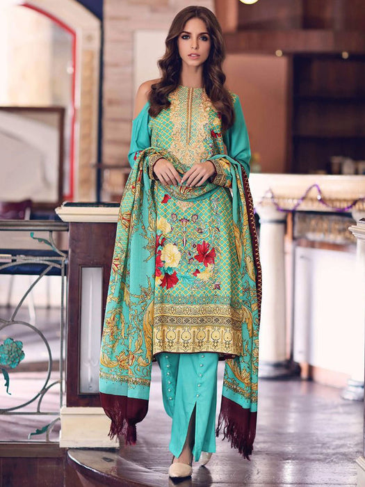Gul Ahmed Winter Original Pakistani Dresses & Suits Collection 17 - 11 wishcart.in