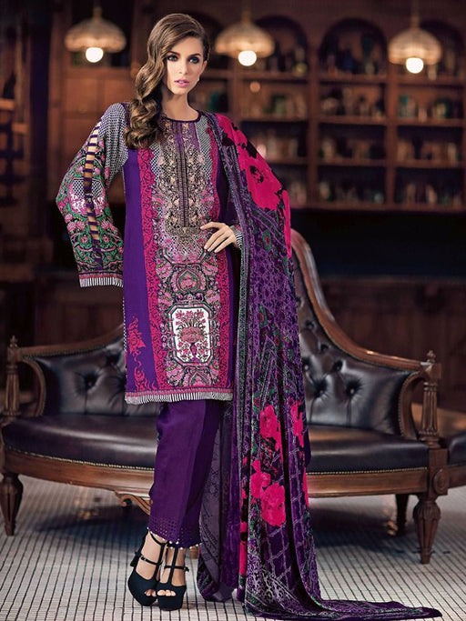 Gul Ahmed Winter Original Pakistani Dresses & Suits Collection 17 - 33 wishcart.in