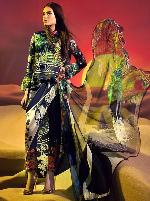 Sana Safinaz Silk Collection 17