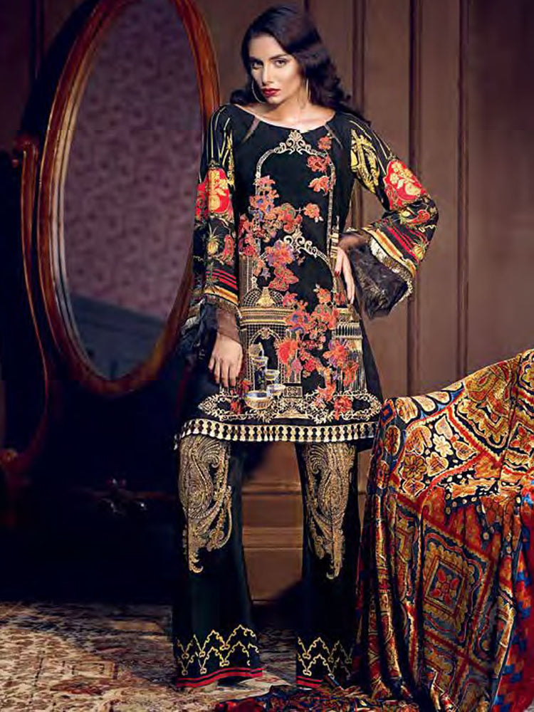 Gul Ahmed Winter Original Pakistani Dresses & Suits  Collection 17 - 12 wishcart.in
