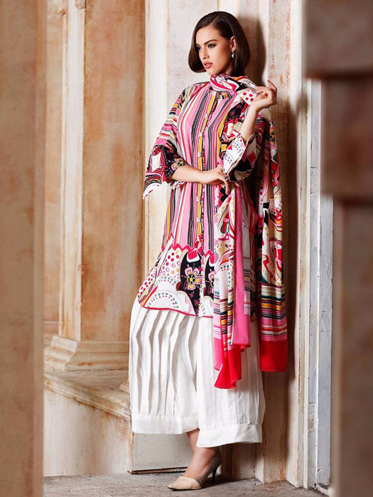 Gul Ahmed Winter Original Pakistani Dresses & Suits Collection 17 - 22 wishcart.in