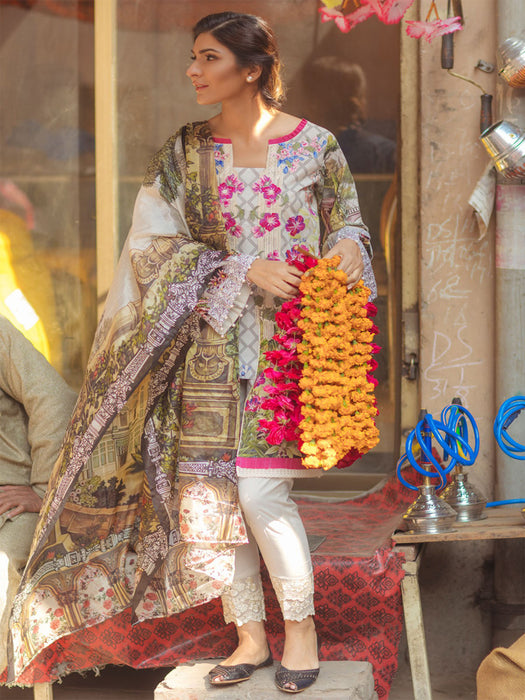 Firdous Spring Summer Lawn Collection 2018 03 wishcart.in