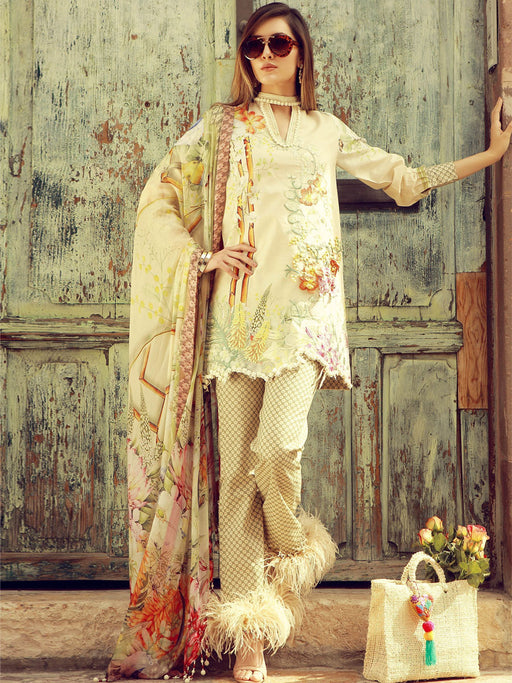 Party wear embroidered suit by Rungrez@wishcart.in