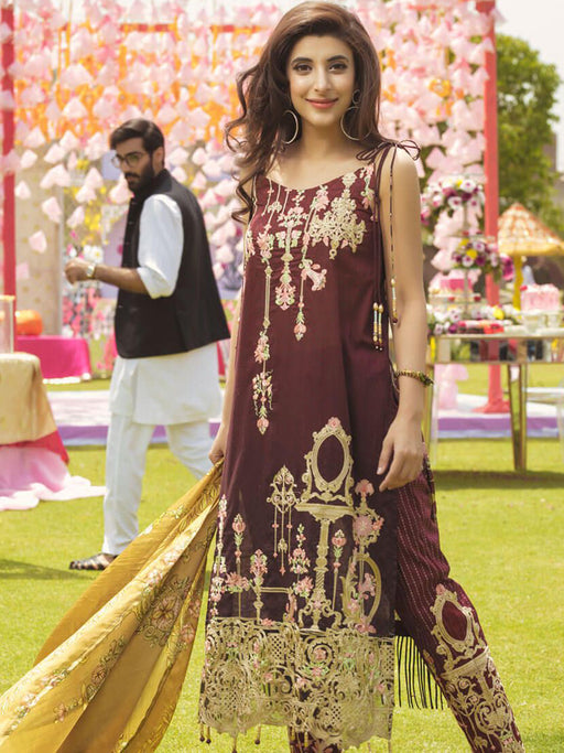 Embroidered suits for EID by Rangrasiya collection@wishcart.in