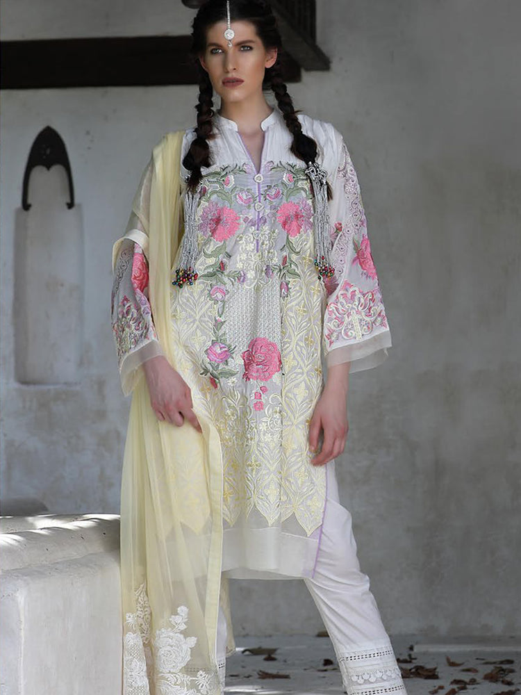 Chikankari wedding dress collection by LSM@wishcart.in