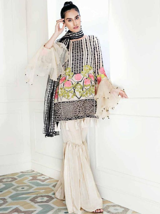 wishcart-store - Charizma Chimmer Chiffon Collection 2018 - wishcart-store -