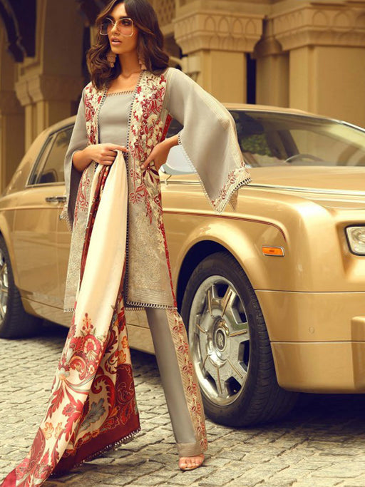 Faraz Manan Luxury Original Pakistani Dresses & Suits Eid Collection 2018 10 wishcart.in