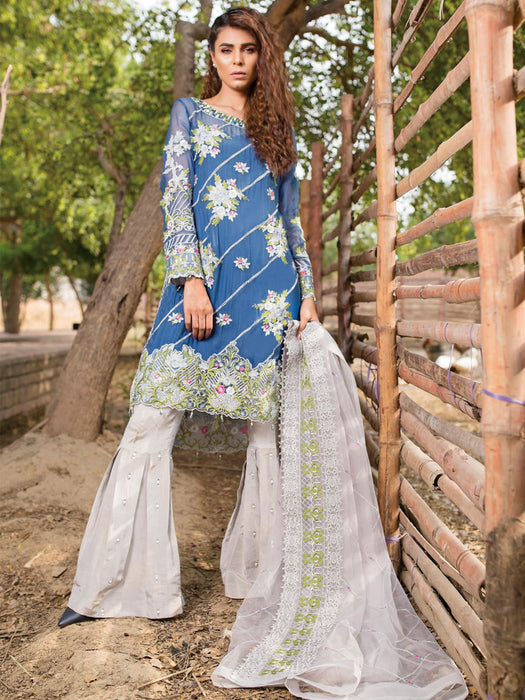 Royal look sharara style suit@wishcart.in