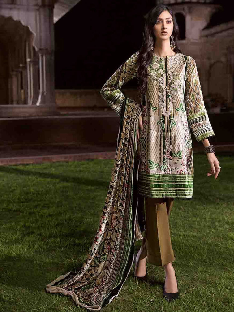 Gul Ahmed Winter Original Pakistani Dresses & Suits Collection 2018 - 012 wishcart.in
