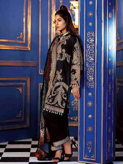 Gul Ahmed Winter Original Pakistani Dresses & Suits Collection 2018 - 010 wishcart.in