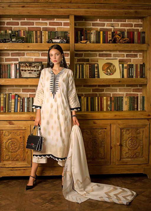Gul Ahmed Original Pakistani Dresses & Suits Formal Collection 2019 - Peaks & Valleys 01 wishcart.in