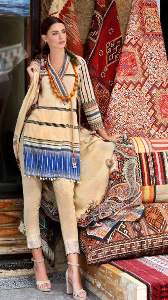 Gul Ahmed Craft Collection Original Pakistani Dresses & Suits 2018 01 wishcart.in