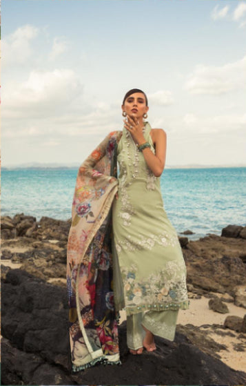 wishcart-store - Noor By Saadia Asad Luxury Lawn 2019 3B - wishcart-store -