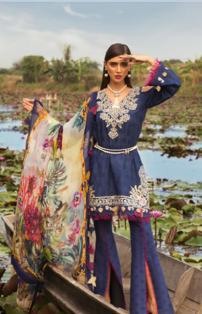 wishcart-store - Noor By Saadia Asad Luxury Lawn 2019 4A - wishcart-store -