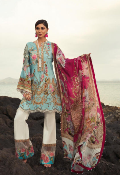 wishcart-store - Noor By Saadia Asad Luxury Lawn 2019 6B - wishcart-store -